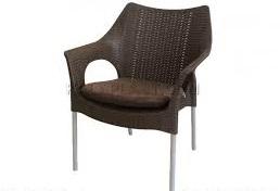 صندلی پلاستیکی طرح حصیر
