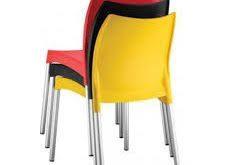 صندلی پلاستیکی رنگی