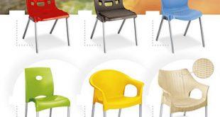 صندلی پلاستیکی رستوران