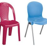 صندلی پلاستیکی بدون دسته