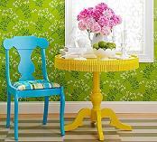 صندلی پلاستیکی حیاطی شیک
