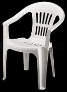 صندلی پلاستیکی دسته دار در تهران