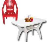 صندلی پلاستیکی مرغوب و شیک