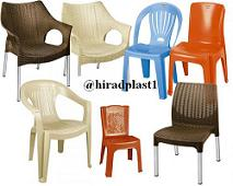 صندلی پلاستیکی دسته دار و بدون دسته