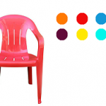 صندلی های پلاستیکی دسته دار