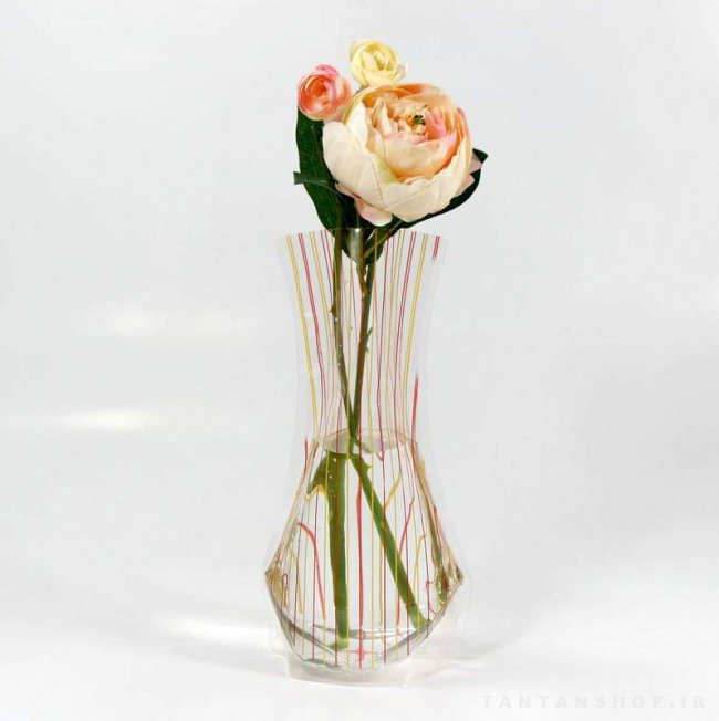 گلدان پلاستیکی تاشو