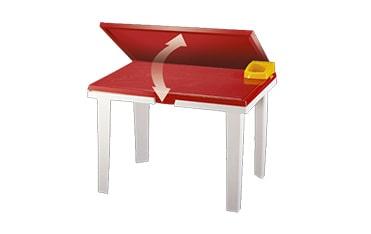 مرکز پخش میز تحریر پلاستیکی