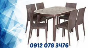 میز و صندلی پلاستیکی اشپزخانه